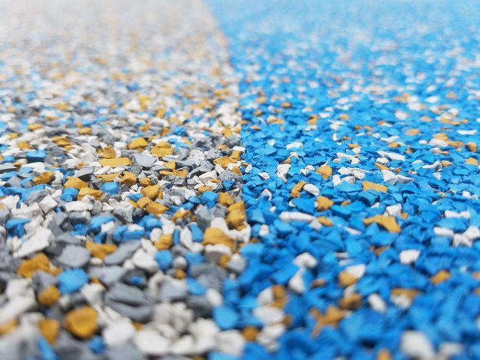 Full frame shot of multi colored stones