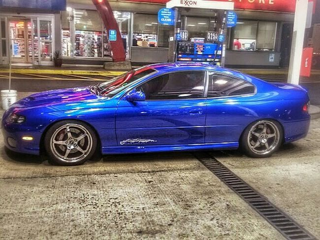 PONTIACGTO Clean Car Fast And Furious WorkLife Gas Station