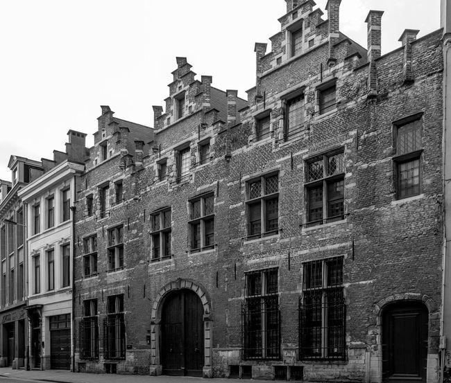 Prison, Antwerp Prison Gaol Architecture Monochrome Belgium Antwerp, Belgium FUJIFILM X-T10 Black And White Antwerp