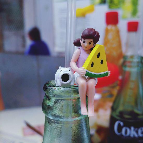 Close-up Model - Object 杯緣子