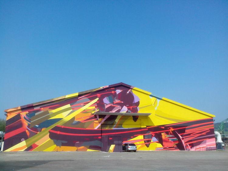 street art à Rouen Normandie France