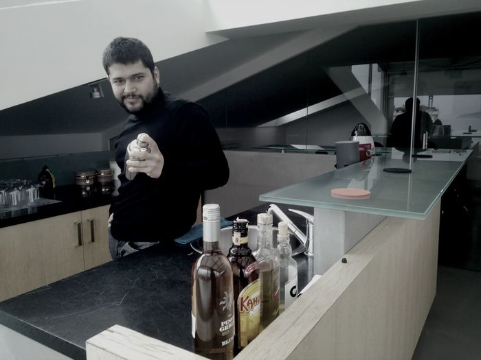 Self PortraitSelfportrait Bar Bartender