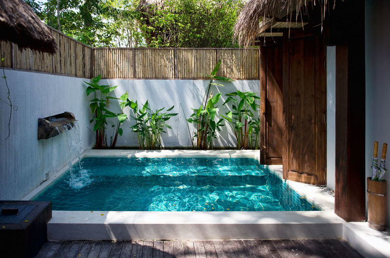 Swimming pool at the luxury villa. Samui island, Thailand ASIA Exotic Pool Time Swimming Architecture Built Structure Day Hotel House Idyllic Idyllic Scenery Luxury Nature No People Outdoors Plant Pool Poolside Samui Samui_thailand Swimming Pool Tourist Resort Turquoise Vacation Water