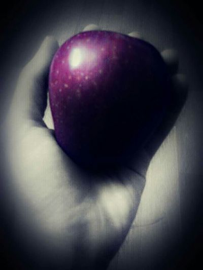 Taking Photos Check This Out Eye4photography  EyeEmBestEdits Creative Black And White With A Splash Of Colour Apple Fruits