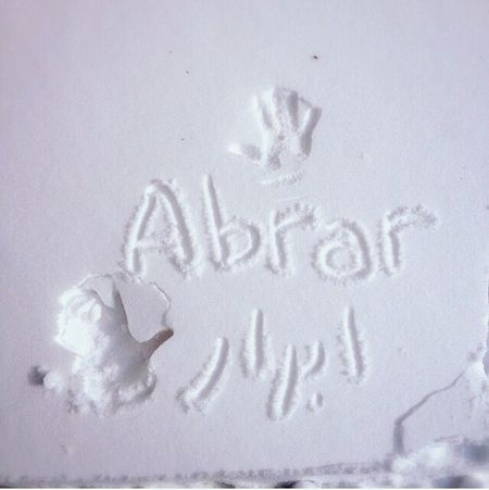 snow baby Snow ❄ That's My Name Abrar