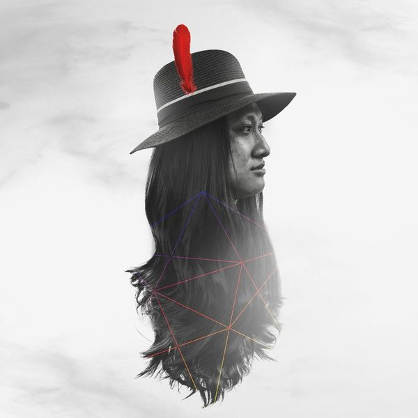 Photoshop Edit Red Feather Red Indian Mood Myself