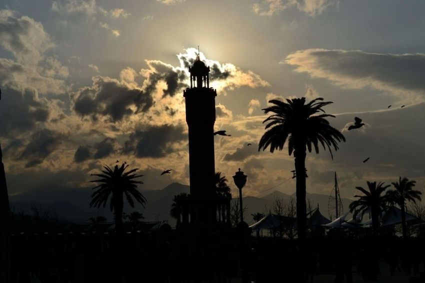 Konak Konak Meydanı Izmir Saatkulesi Turkey Türkiye Sunset Sunshine EyeEm Best Shots EyeEm Nature Lover Eye4photography  EyeEm Best Edits EyeEm Gallery Eyemnaturelover