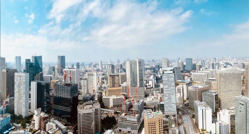 Tokyo sky. EyeEm Selects Architecture Sky Building Exterior Built Structure City Cloud - Sky Cityscape Building Landscape Urban Skyline