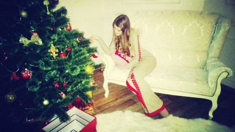 I love my home♥ Fashion New Year Mary Christmas Beautiful Girl