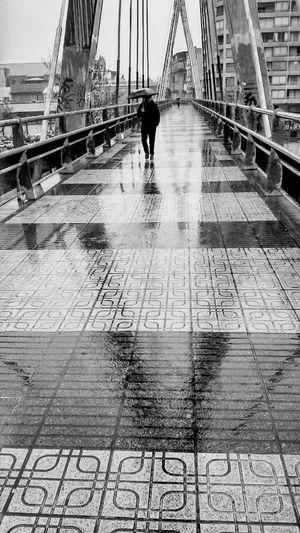 Puente Día De Lluvia