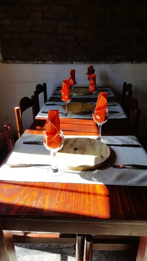 Restaurant Restaurants Empty Table Empty Places Empty Restaurant Orange Color Orange Mood Sun Shadows & Lights Shadows Shadows And Light