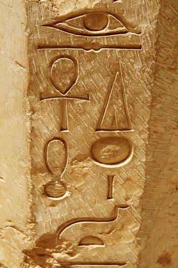 Temple Of Hatshepsut Egypt Hieroglyphics