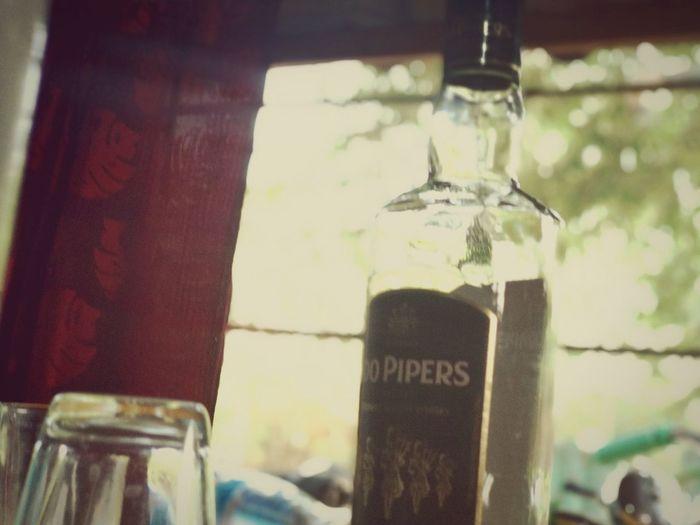Drink Hanging Bottle Close-up