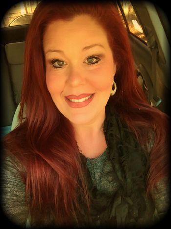 Red Redhead Redken Selfie ✌
