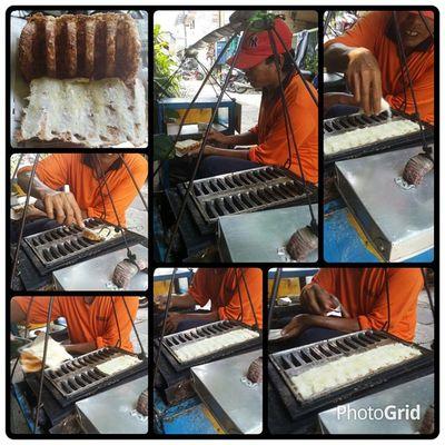 Kue Rangin - the process Kue Rangin Jajanan Yoikisuroboyo snacks meal suroboyo indonesianfood