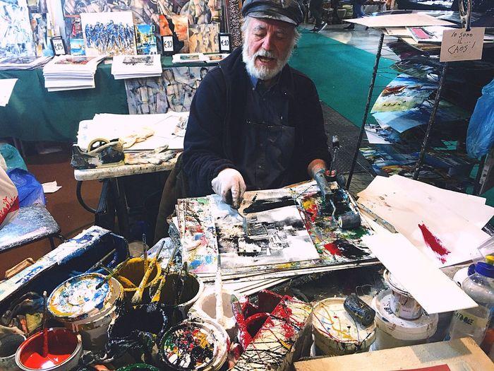 'Io sono il... CAOS!' ArtWork Mature Adult Colors Fieradellartigianato Focus On The Story Small Business Heroes