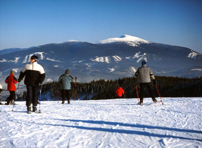 Babia Babia Góra Babiagora Babiahora Beskid Beskid Zywiecki Beskidy Mountain Ski Skiing Winter