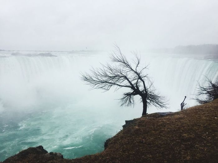 Scenic View Of Niagara Falls