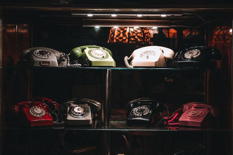 View of display at store