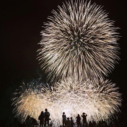 2014.8.23 二子玉川花火大会。川崎方面より。