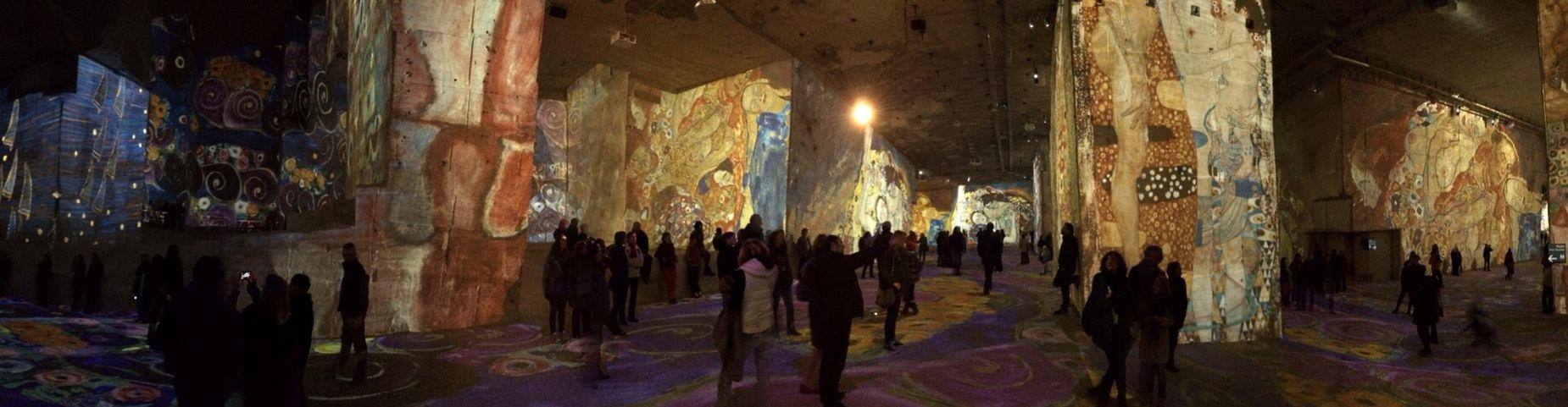 Enjoying Mapping at Les Baux De Provence from Klimt