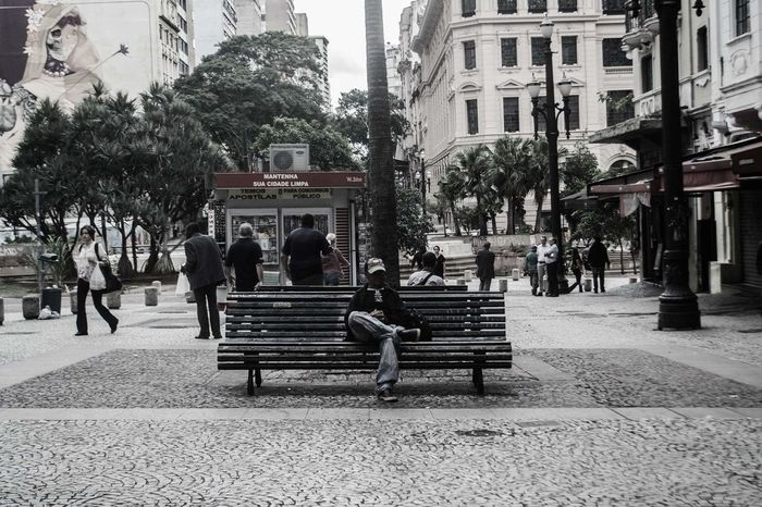 Tree City Adult Park - Man Made Space Sky Day Only Men SP Photographing Fotoderua City Life Photo Streetphotography Welcome To Black Saopaulo Photography Themes Fotografia Artrua Sao Paulo - Brazil Street Photography Rua Saopaulocity