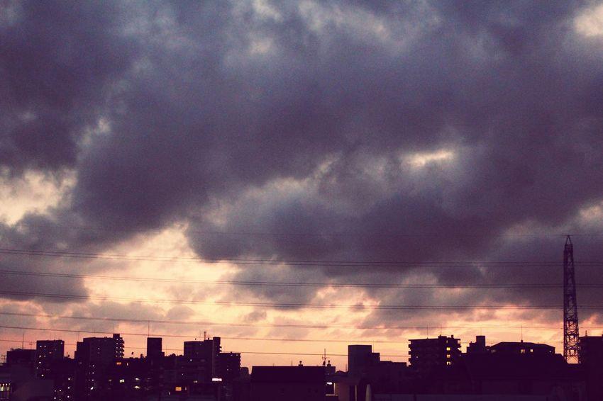 cloud. Nagoya Japan Sky Summer