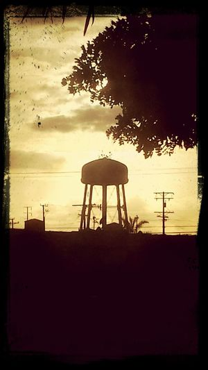 Sunset Water Tower