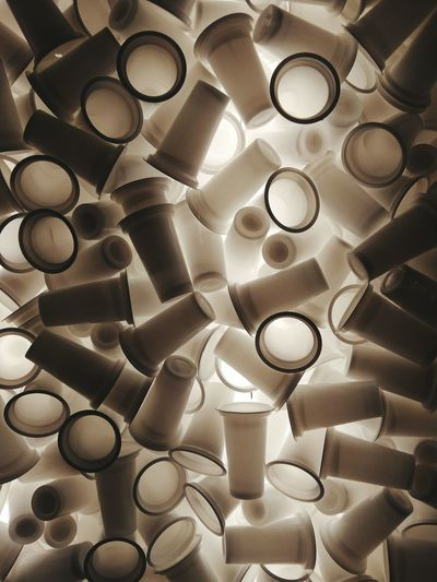 Pattern Backgrounds No People Plastic Plastic Cup Abstract EyeEmNewHere End Plastic Pollution