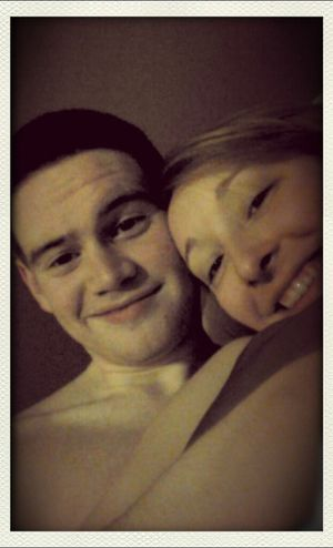 me and my beautiful girlfriend
