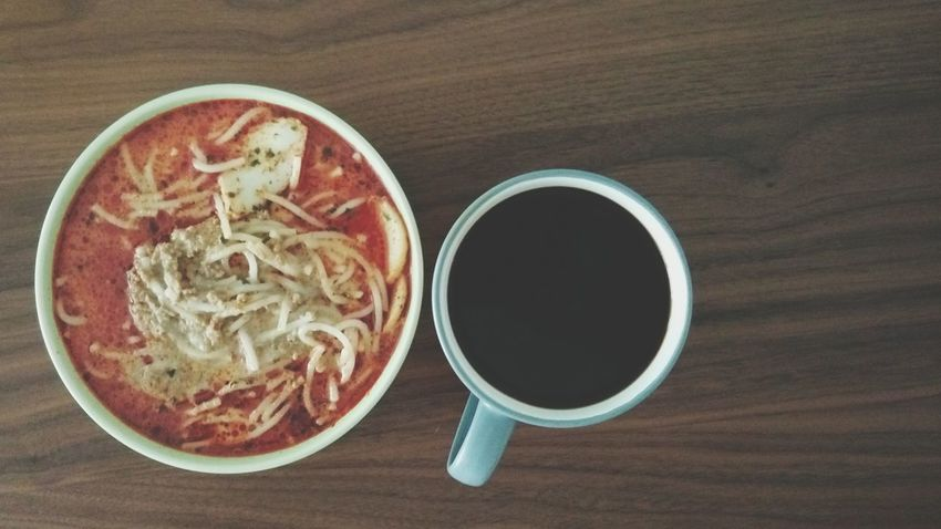 Things I Like nothing like a bowl of singapore laksa with coffee. Happy Yummy Singaporefood