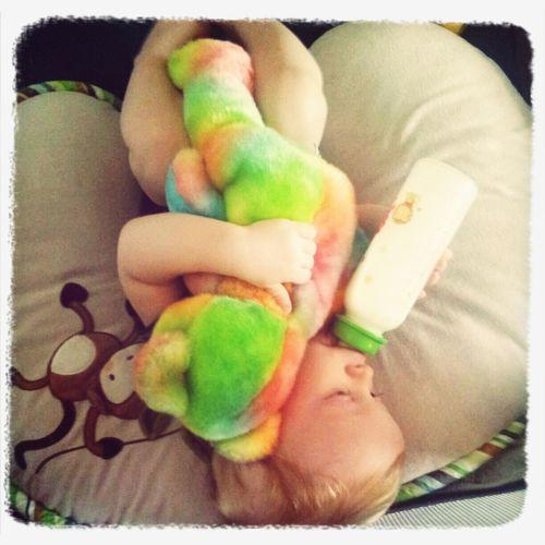 Morning teddy snuggles Love My Son