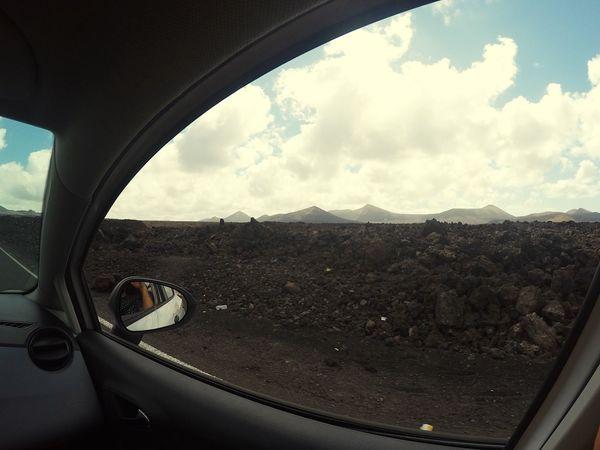 MeinAutomoment Taking Photos Driving On The Moon Canary Islands Islas Canarias Lanzarote Moon Landscape Timanfaya First Eyeem Photo