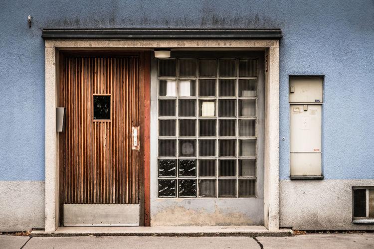 Architecture Building Exterior Built Structure Day Door House Front No People Outdoors Window Wooden Door