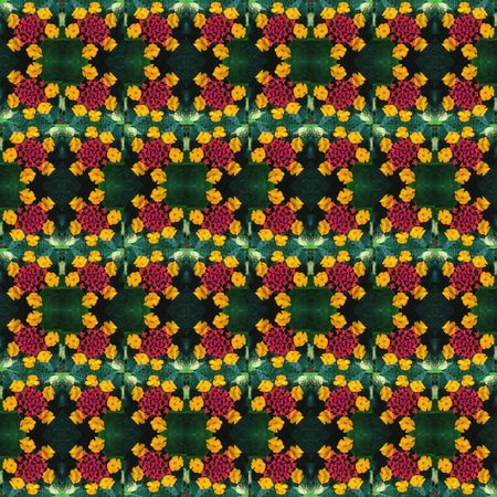 Happy flowers, happy pattern EyeEm Selects Backgrounds Full Frame Pattern No People Multi Colored Design High Angle View Repetition Textile Creativity Beauty In Nature