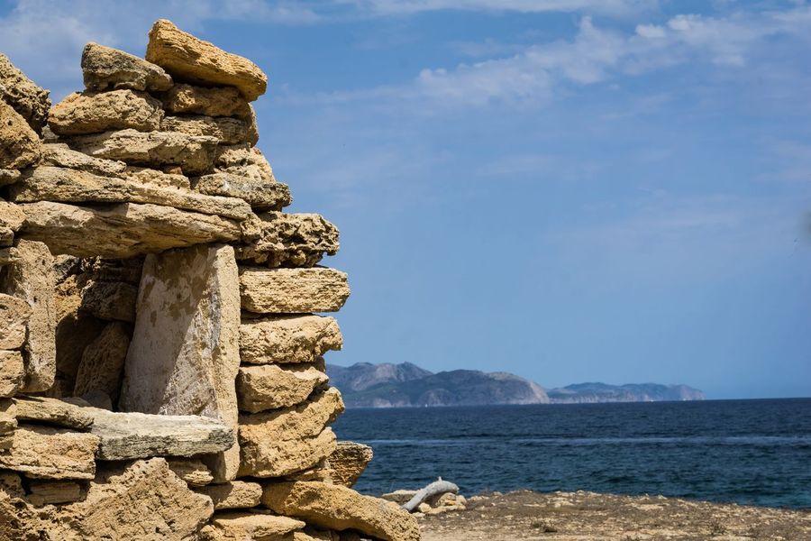 Beautiful Mallorca Son Serra De Marina Mallorca Ruins Rock - Object Sky Day Outdoors Nature Beauty In Nature Scenics