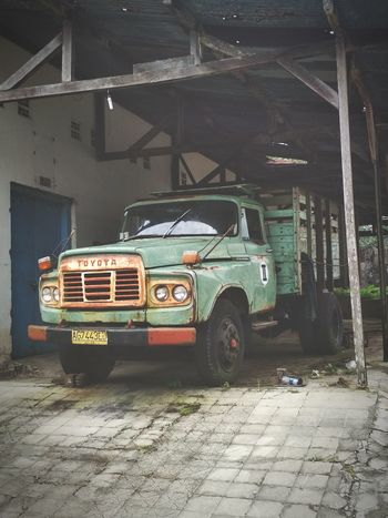 Old Truck Old Truck Toyota Truck Pickup Truck Pickup Retro Toyota DA Toyota 1970 Crocodile Truck Outdoors No People Day