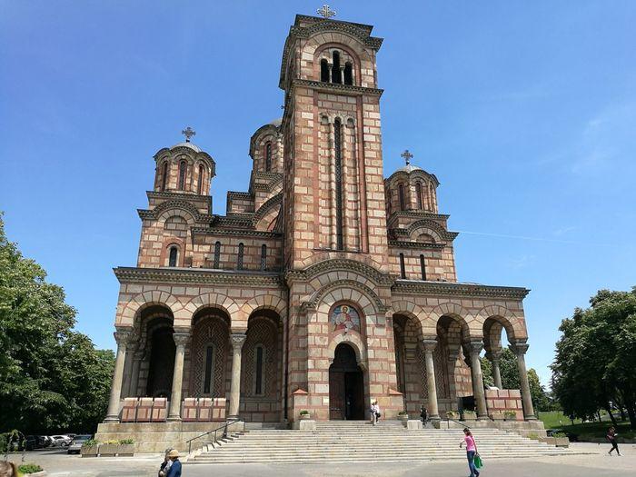 St Marco Church Belgrade Architecture Belgrade,Serbia Beograd Christianity Crkva Svetog Marka Orthodox Church Religion St Marco Church First Eyeem Photo