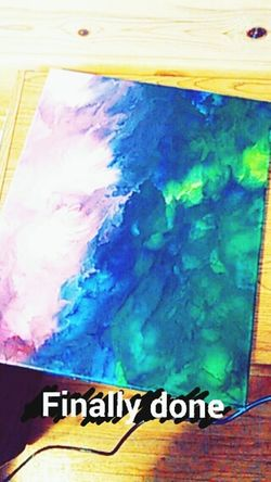 Crayons Crayons Melted Art Piece Art _Cynthia