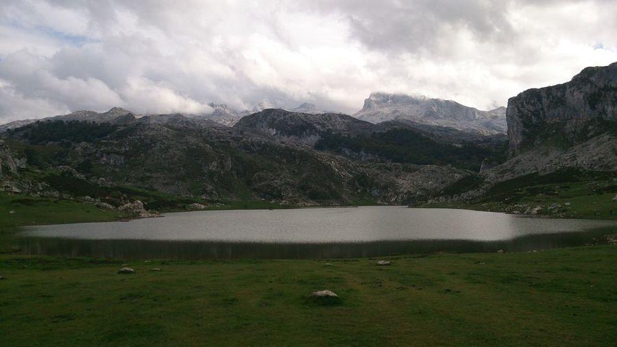 Lake Enol in Asturias