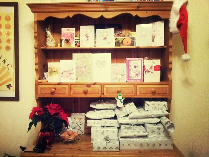 Birthday Cards And Christmas Prezzies
