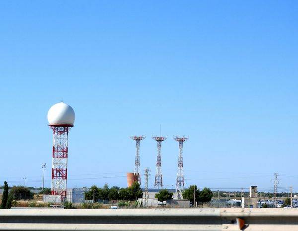 Giant Golf Tees 😎 ~ Day Sky City Outdoors Architecture No People Building Exterior Spain🇪🇸 Sunny EyeEm Selects Radio Station Power Stations Transmitters Technology Airport Tower Communication Is Everything Receiver Alicante