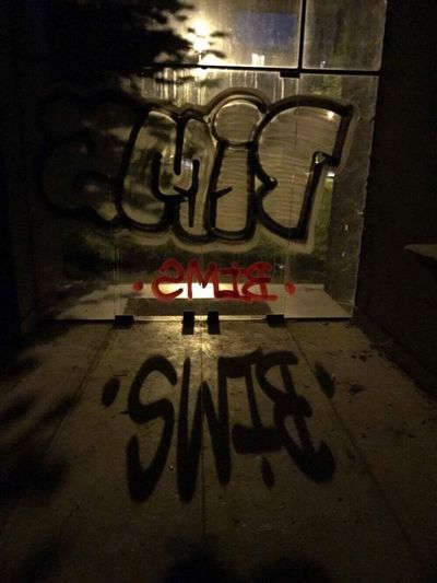 Tag Graffiti Tattoo Paris Paname Street Spot Night Loubard Bims Picture Photo Tatouage First Eyeem Photo