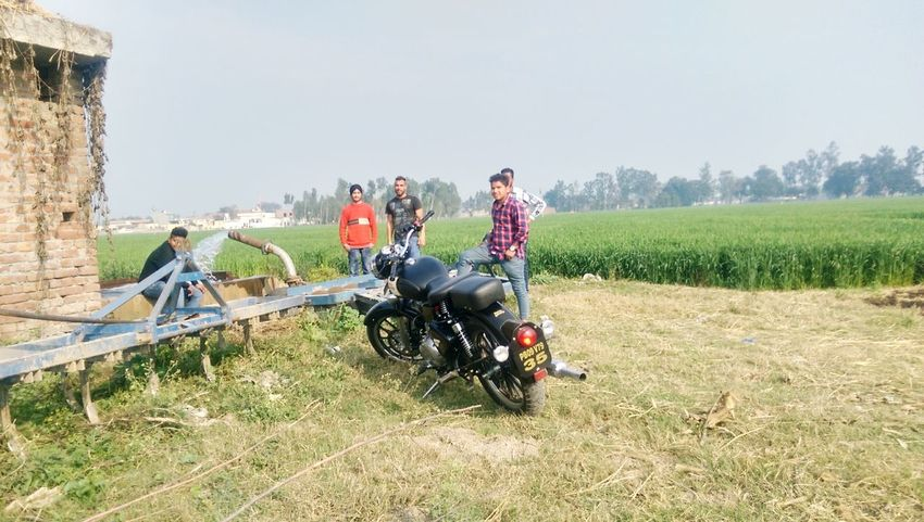 Hi! Hello World Enjoying Life Village Life Village Boys - India Royalenfield Hanging Out Taking Photos Check This Out
