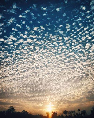 Beautiful Skies of Hazaribagh. India Hazaribagh Sunset Clouds Sun Beautiful Landscape Lake Blue Bluesky Yellow Photographers Photograph Photographers_tr Photooftheday Photo Photogrid Instagramers Instagram Instapic Nature Naturephotography Fotografia Fotogram Hipster nimbus