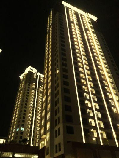 how about building Building Exterior Built Structure Building Apartment Apartment Buildings Serpong Night Summareconserpong Summarecon Beautiful