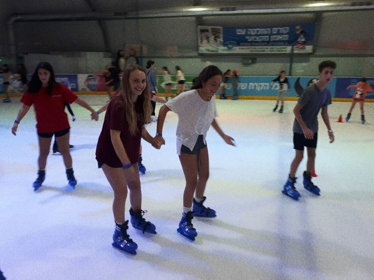 Ice Rink Athlete Sports Team Ice Hockey Friendship Competitive Sport Sport Full Length Sportsman Competition