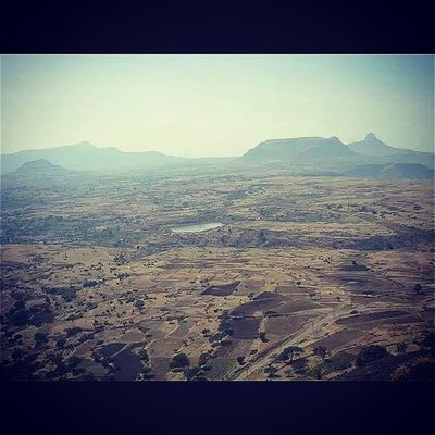 Aerialview fromAAD Vishramkilla Sinnar Nashik Maharashtra India TravelTales Trek Mothernature Incredibleindia Field Coloursofindia