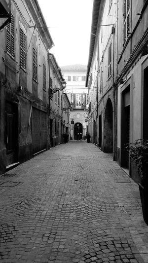 Novi Ligure Panorama Citta Antica Vie Comune