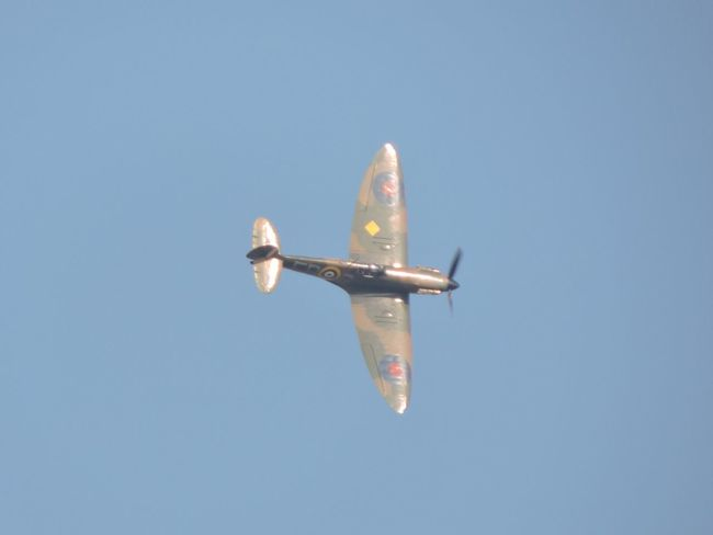 Aeroplane Aeroplane In The Sky Aircraft Aircraft In The Sky Bluesky Fighterplane Merlinengine Spitfire Ww2 Ww2warbirds